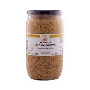 MUSTARD WHOLEGRAIN 810G